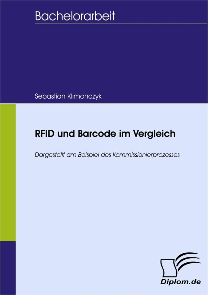 RFID und Barcode im Vergleich als eBook Downloa...