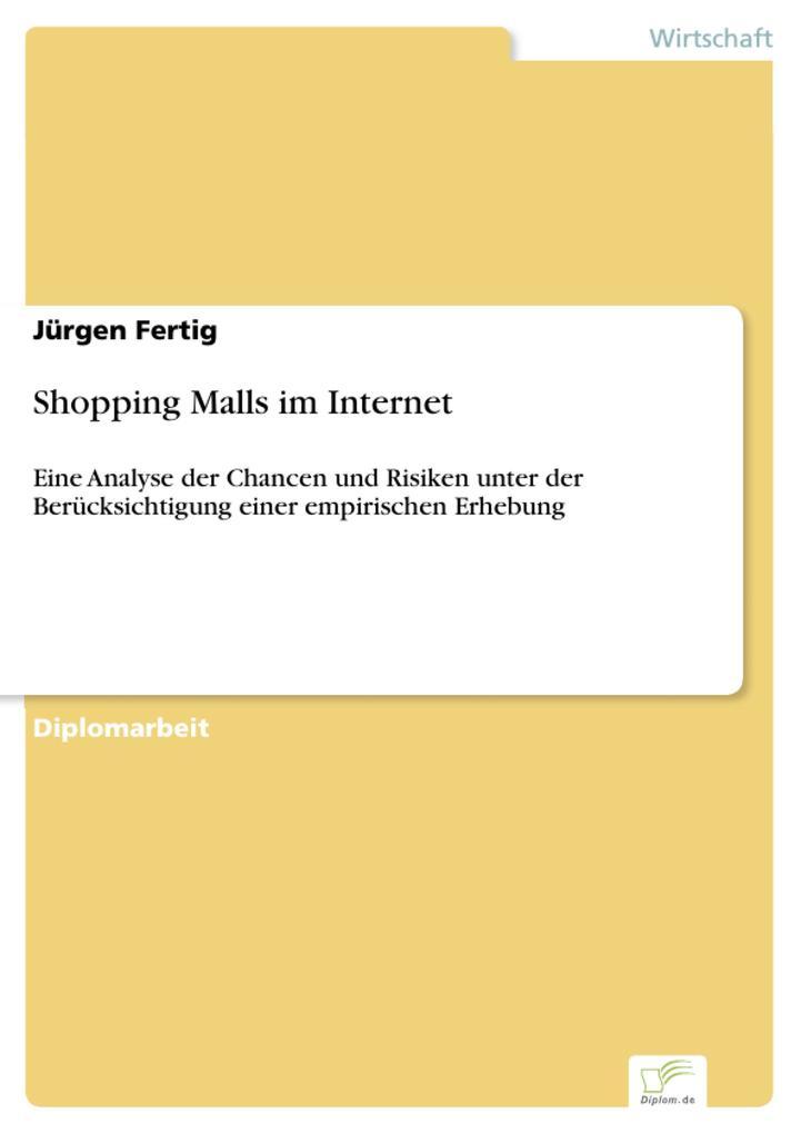 Shopping Malls im Internet als eBook Download v...