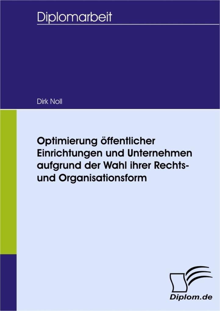 Optimierung öffentlicher Einrichtungen und Unte...