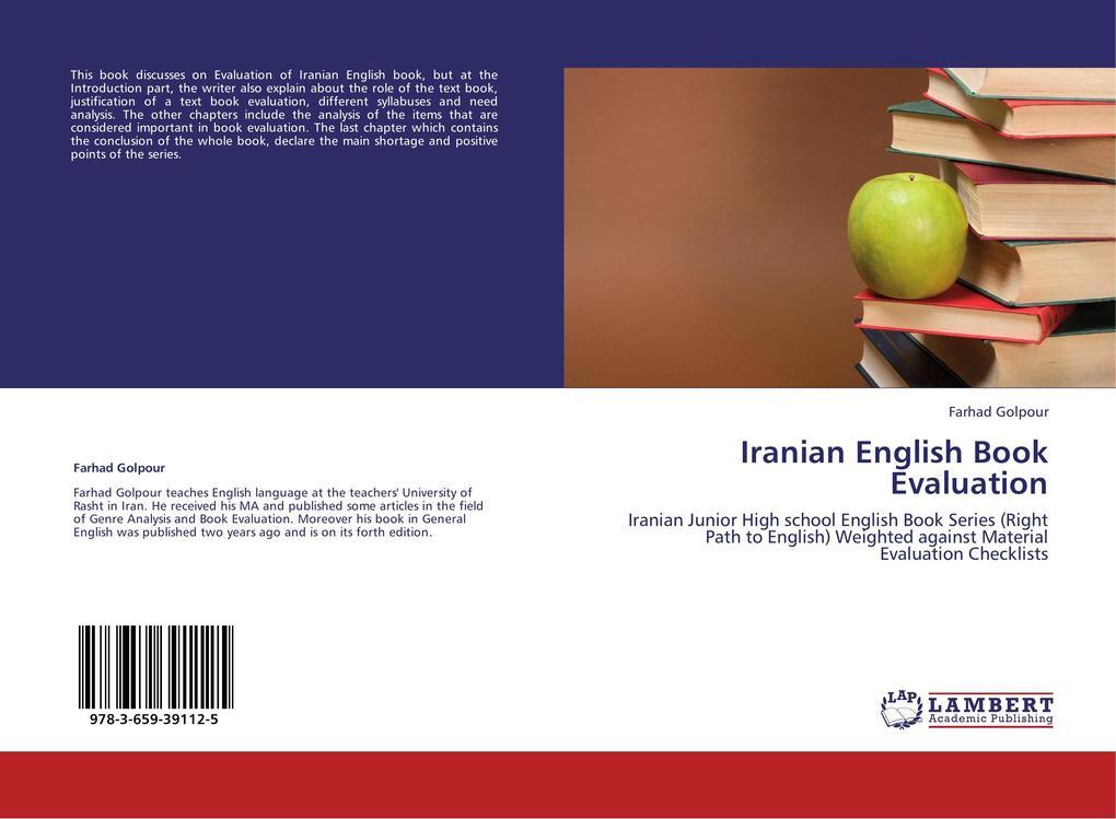 Iranian English Book Evaluation als Buch von Fa...