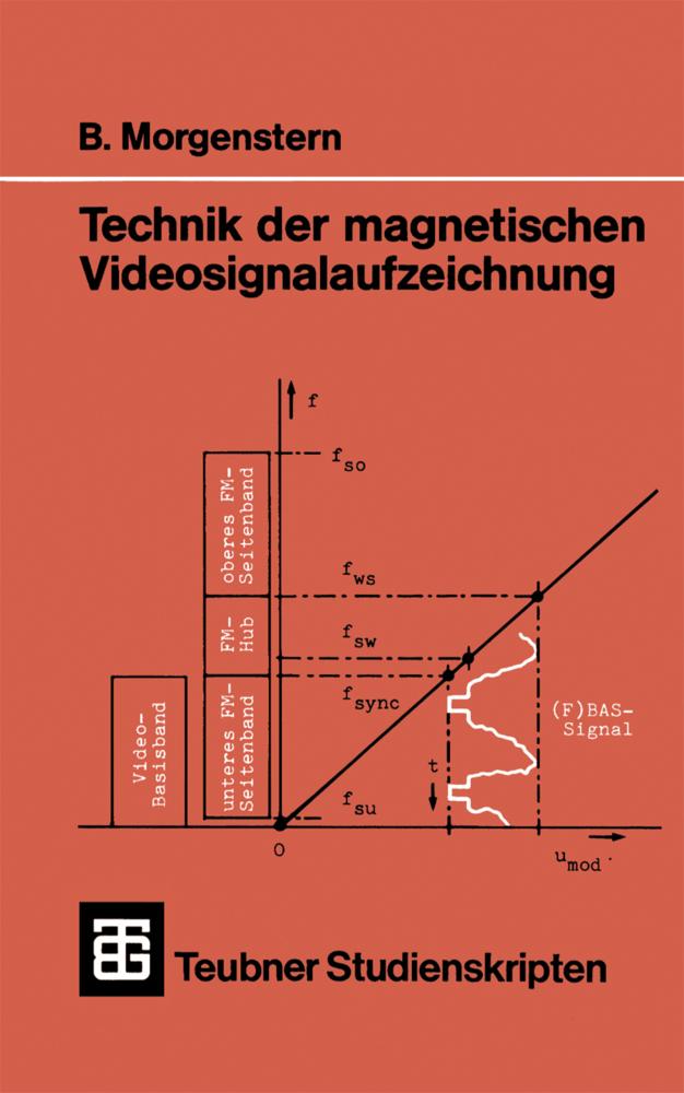 Technik der magnetischen Videosignalaufzeichnun...
