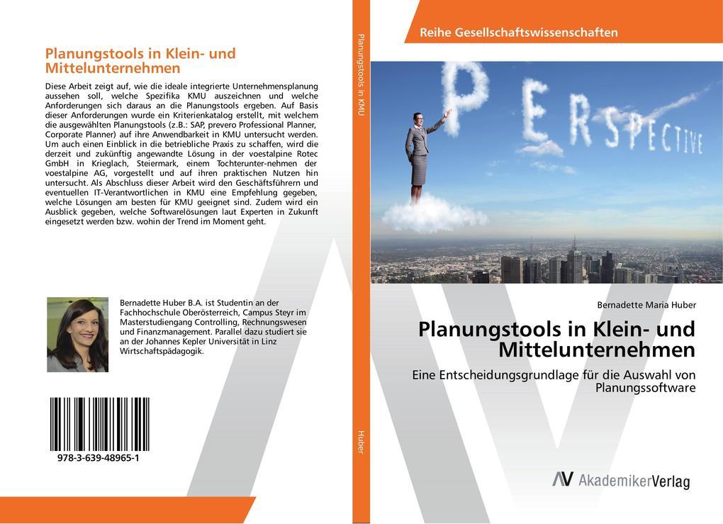Planungstools in Klein- und Mittelunternehmen a...
