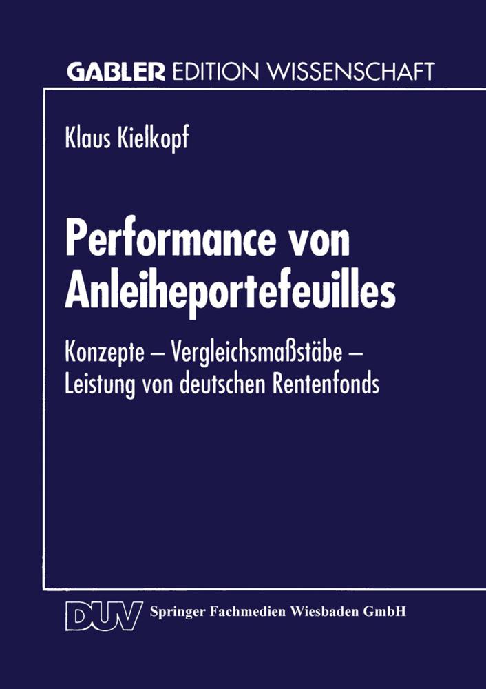 Performance von Anleiheportefeuilles als Buch v...
