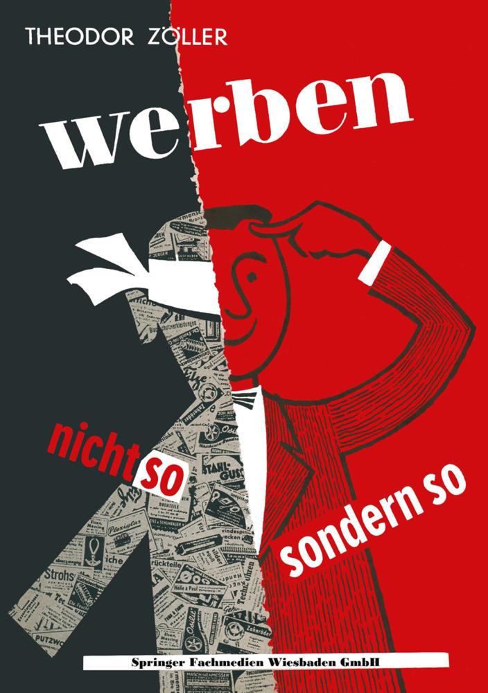 Werben als Buch von Theodor Zöller