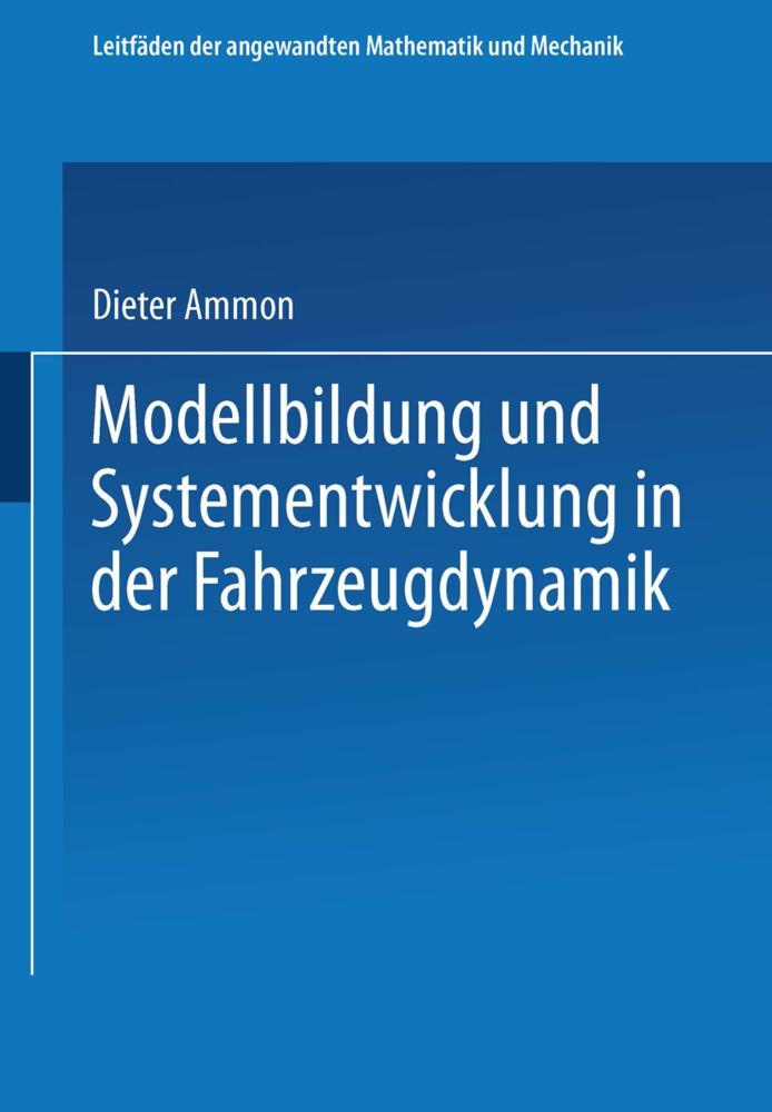 Modellbildung und Systementwicklung in der Fahr...