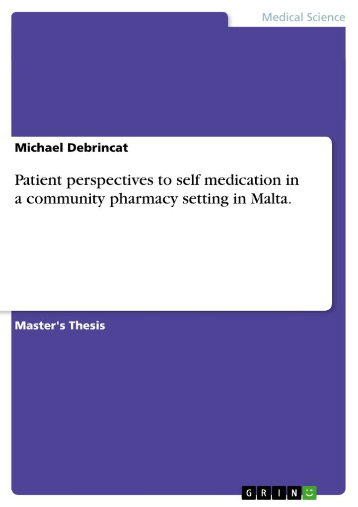 Patient perspectives to self medication in a co...