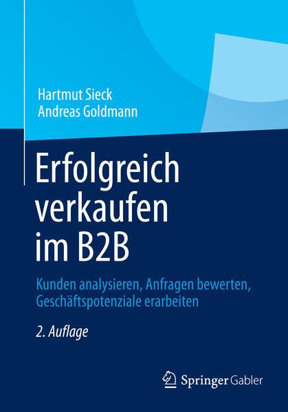 Erfolgreich verkaufen im B2B als Buch von Hartm...