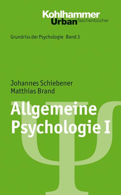 Allgemeine Psychologie I als Taschenbuch von Ma...