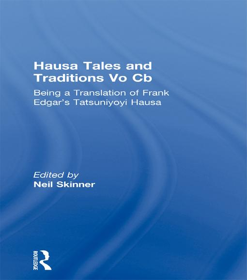 Hausa Tales and Traditions Vo Cb als eBook Down...