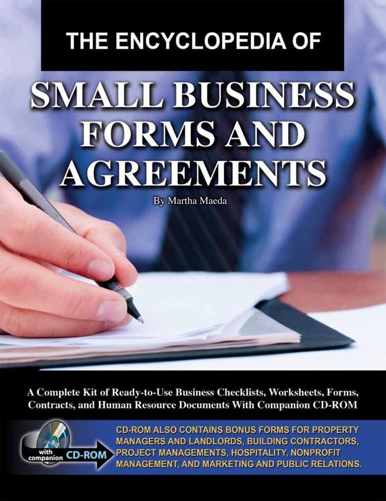 The Encyclopedia of Small Business Forms and Ag...