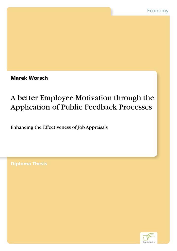 A better Employee Motivation through the Applic...