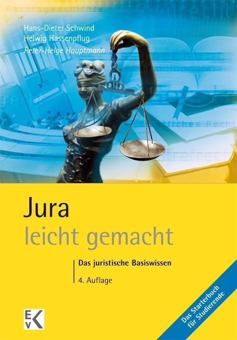 Jura leicht gemacht als Buch von Peter-Helge Ha...