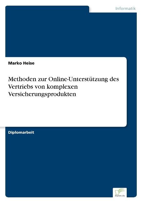 Methoden zur Online-Unterstützung des Vertriebs...