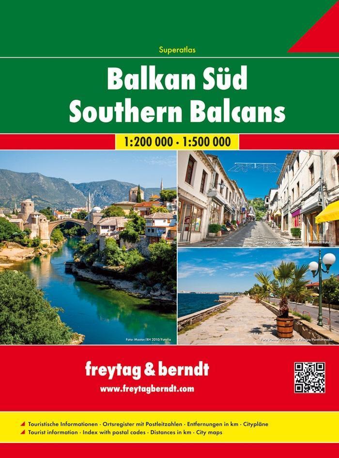 Balkan Süd - Serbien - Montenegro - Kosovo - Ma...