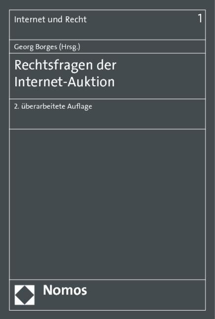 Rechtsfragen der Internet-Auktion als Buch von