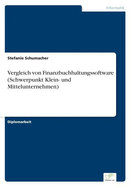 Vergleich von Finanzbuchhaltungssoftware (Schwe...