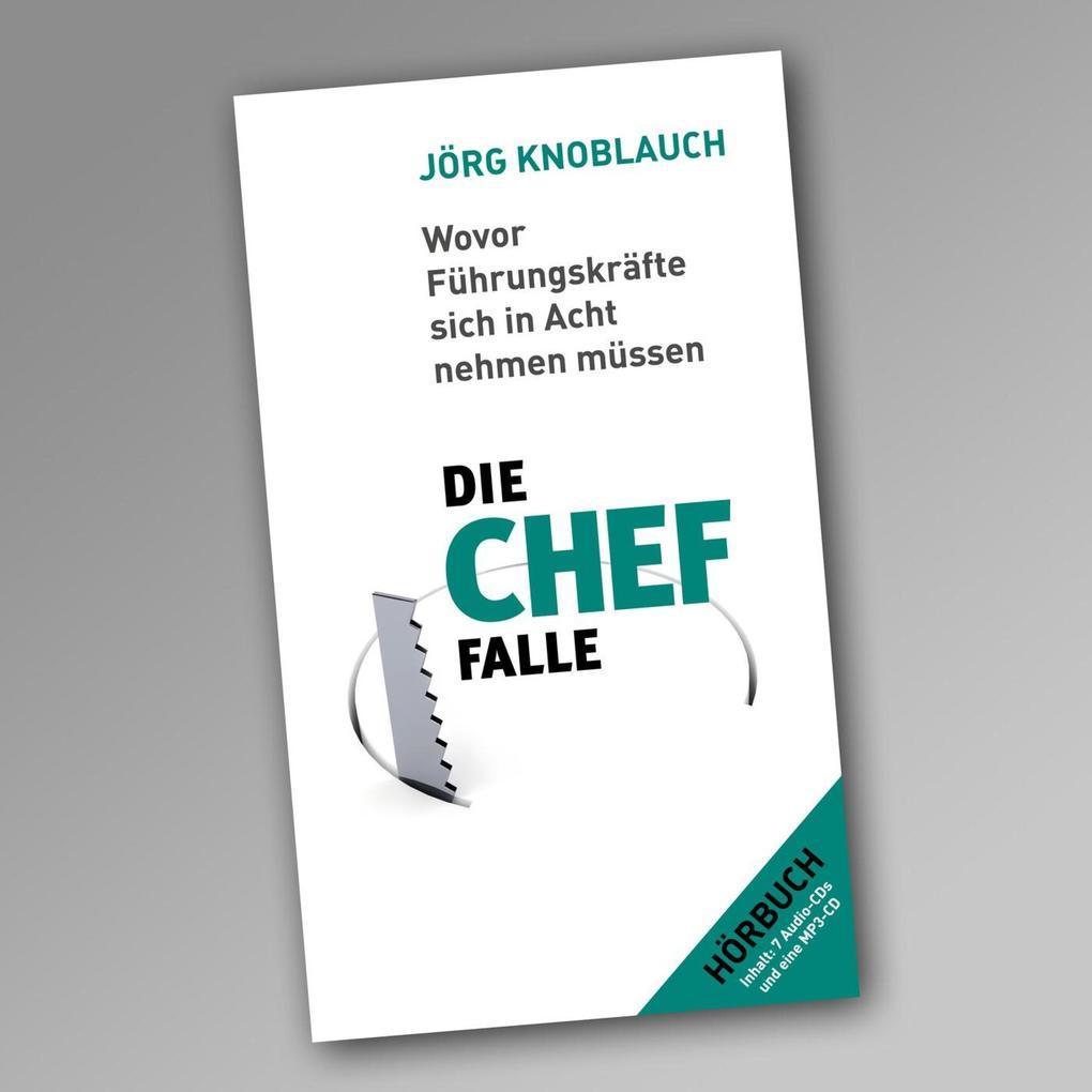 Die Chef-Falle als Hörbuch Download von Jörg Kn...