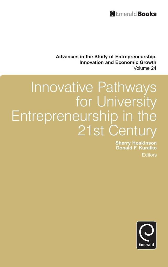 Innovative Pathways for University Entrepreneur...