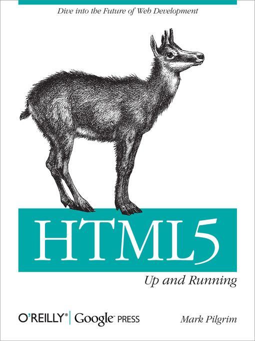 HTML5 als eBook Download von Mark Pilgrim