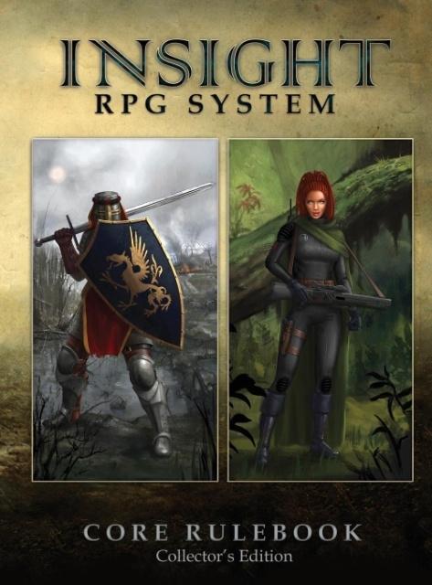 Insight RPG System Core Rulebook als Buch von E...