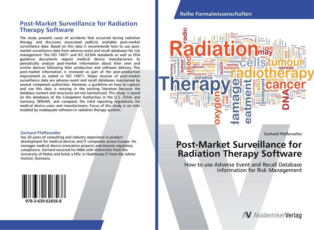 Post-Market Surveillance for Radiation Therapy ...