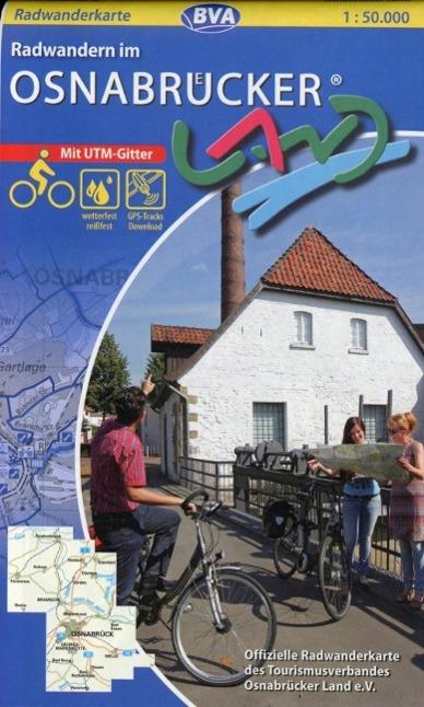 Radwandern im Osnabrücker Land als Buch von