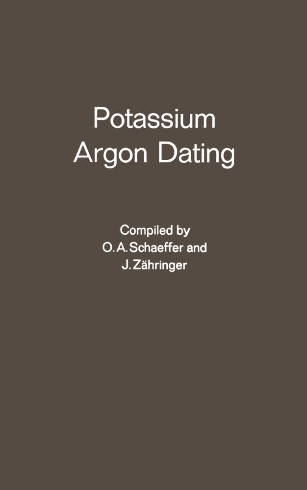 Potassium Argon Dating als Buch von J. A. Zahri...