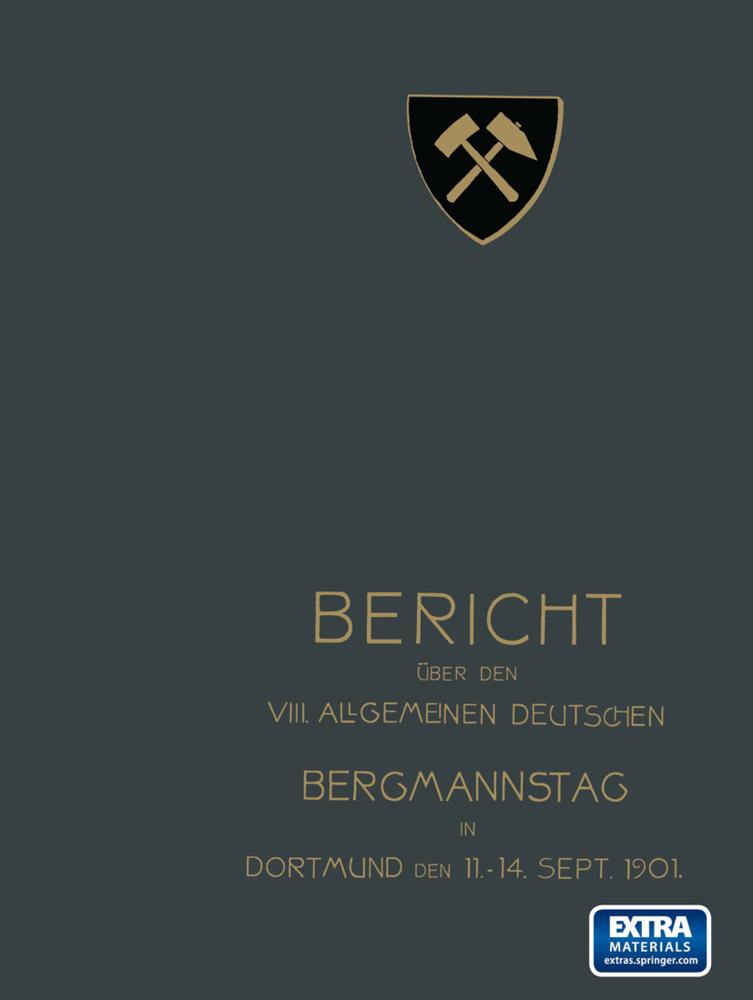 Bericht über den VIII. Allgemeinen Deutschen Be...