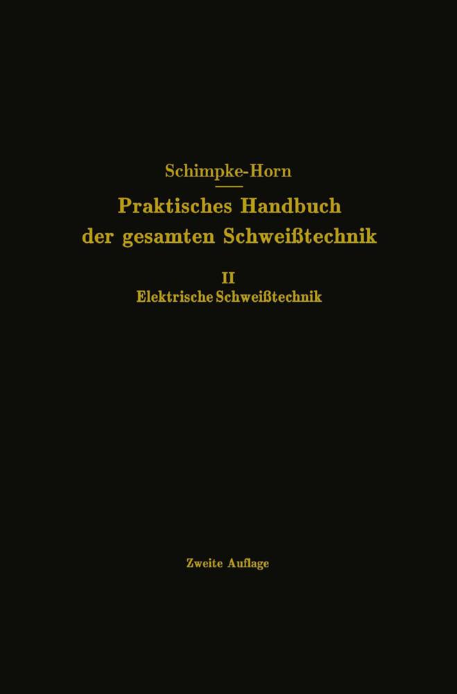 Elektrische Schweißtechnik als Buch von Paul Sc...