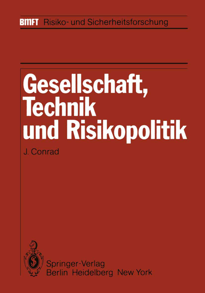 Gesellschaft, Technik und Risikopolitik als Buc...