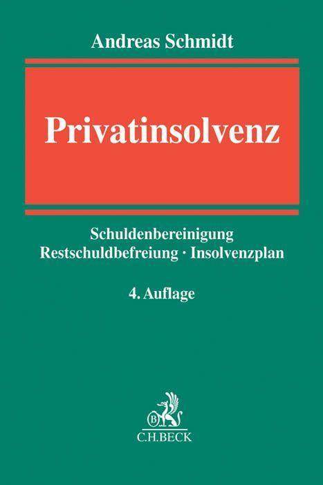 Privatinsolvenz als Buch von Andreas Schmidt