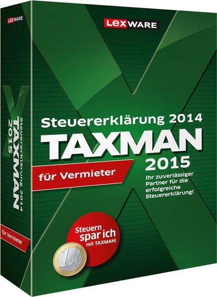 TAXMAN 2015 für Vermieter