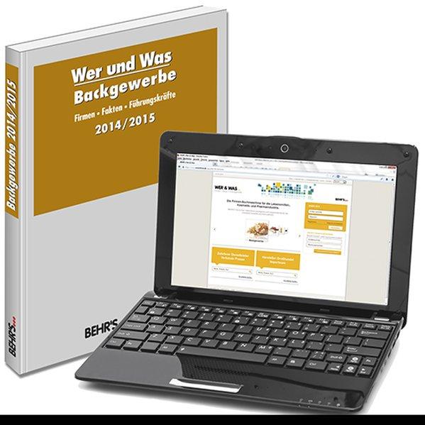 Wer und Was - Backgewerbe 2014/2015 als Buch von