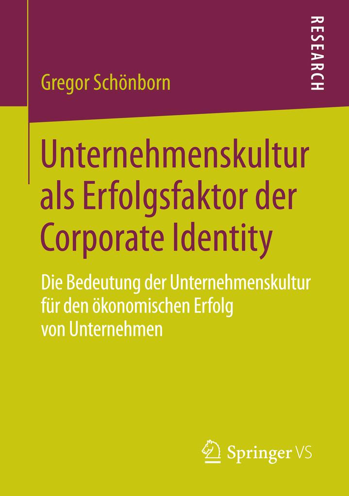 Unternehmenskultur als Erfolgsfaktor der Corpor...