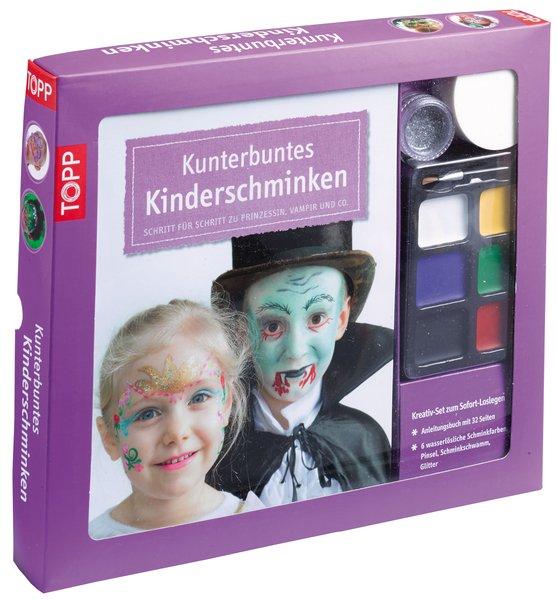 Kreativ-Set Kunterbuntes Kinderschminken als Bu...