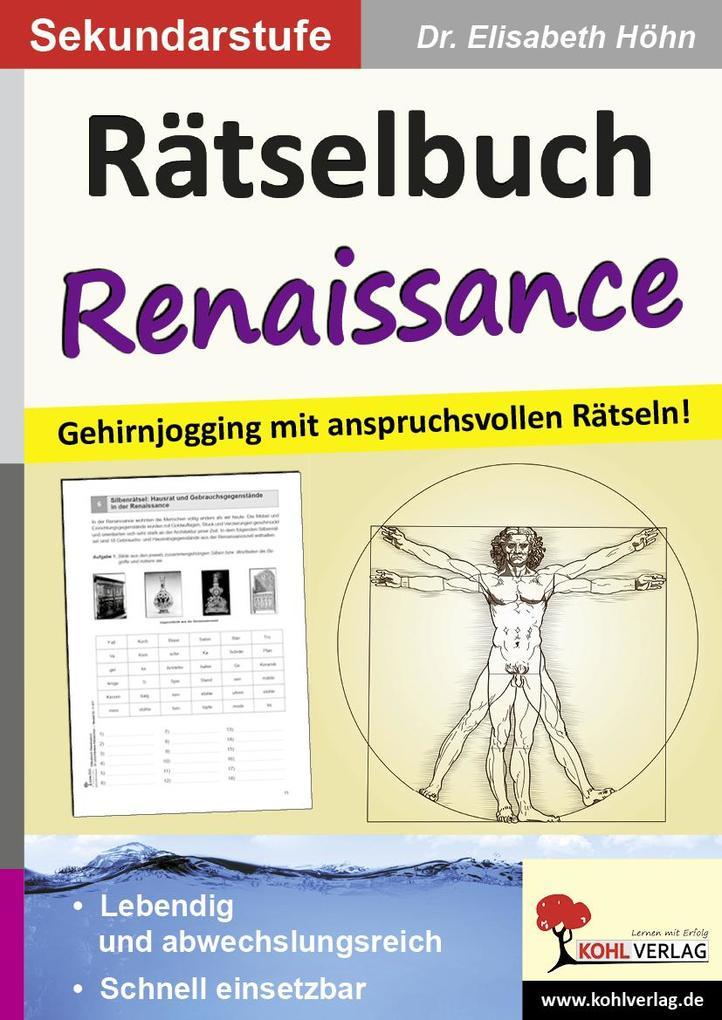 Rätselbuch Renaissance als eBook Download von E...