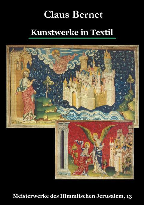 Kunstwerke in Textil als Buch von Claus Bernet