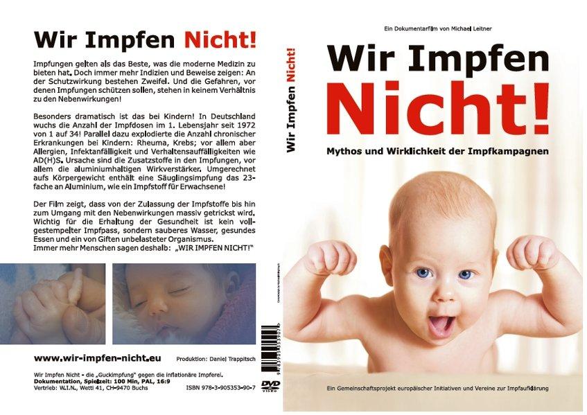 Wir Impfen Nicht. DVD