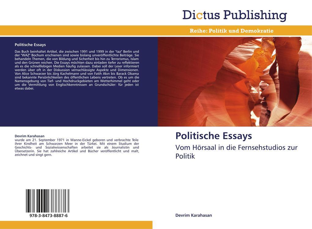 Politische Essays als Buch von Devrim Karahasan