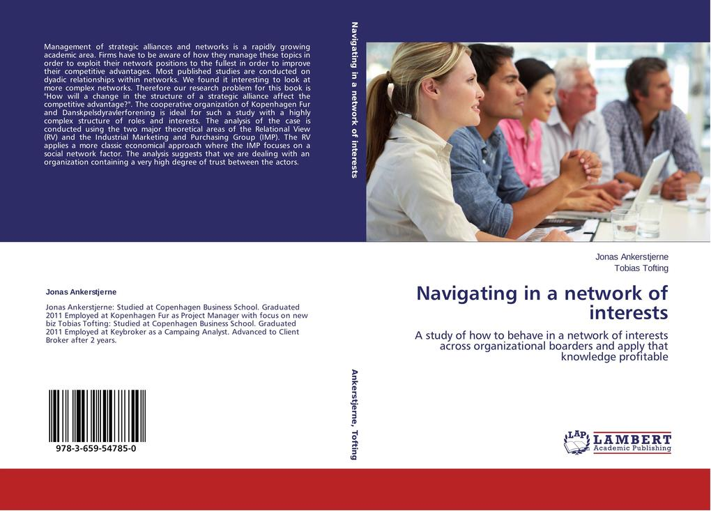 Navigating in a network of interests als Buch v...