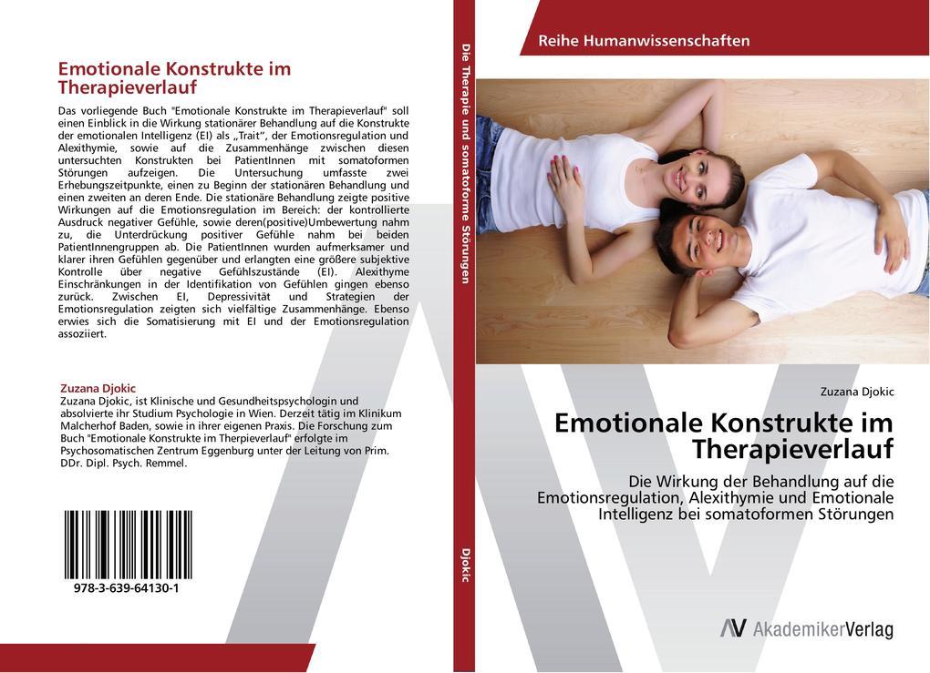 Emotionale Konstrukte im Therapieverlauf als Bu...