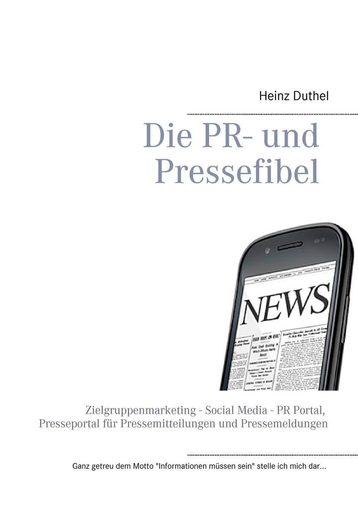Die PR- und Pressefibel als eBook Download von ...
