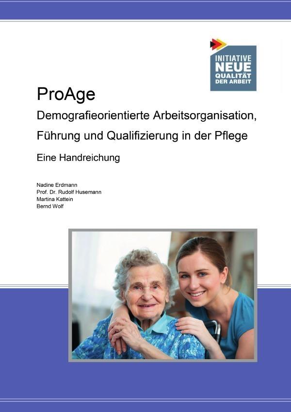 Publikation ProAge als Buch von Bernd Wolf