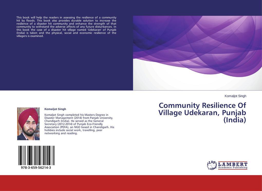 Community Resilience Of Village Udekaran, Punja...