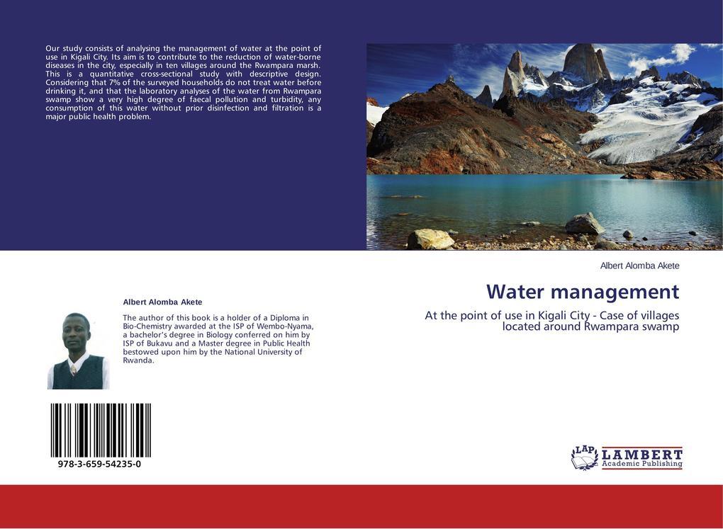 Water management als Buch von Albert Alomba Akete