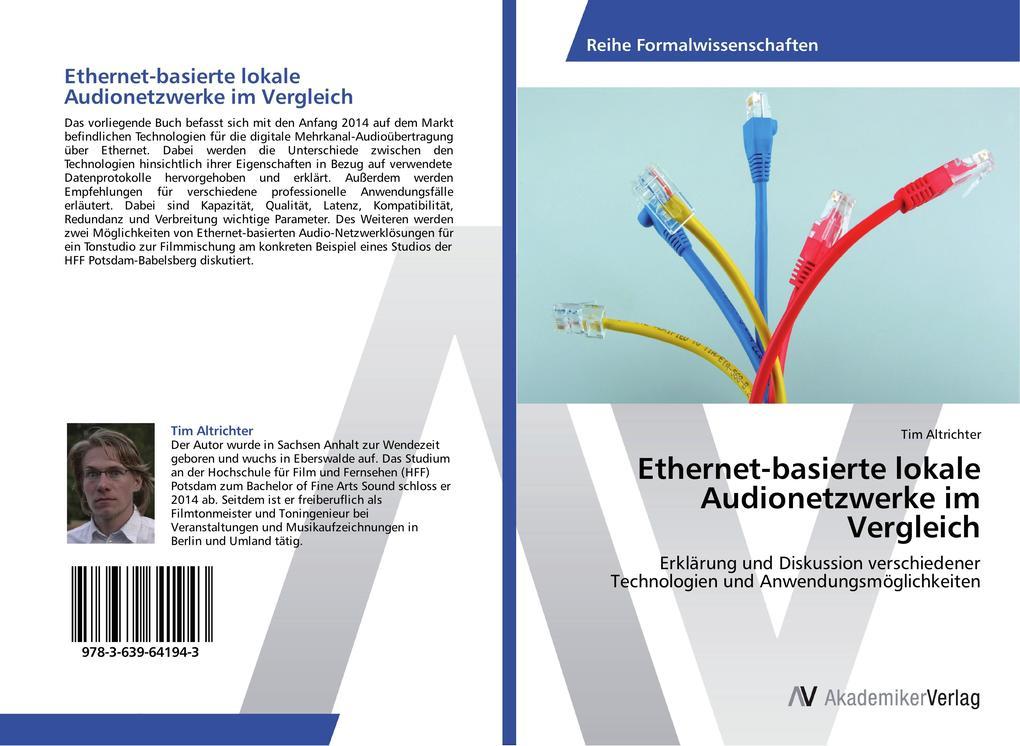 Ethernet-basierte lokale Audionetzwerke im Verg...