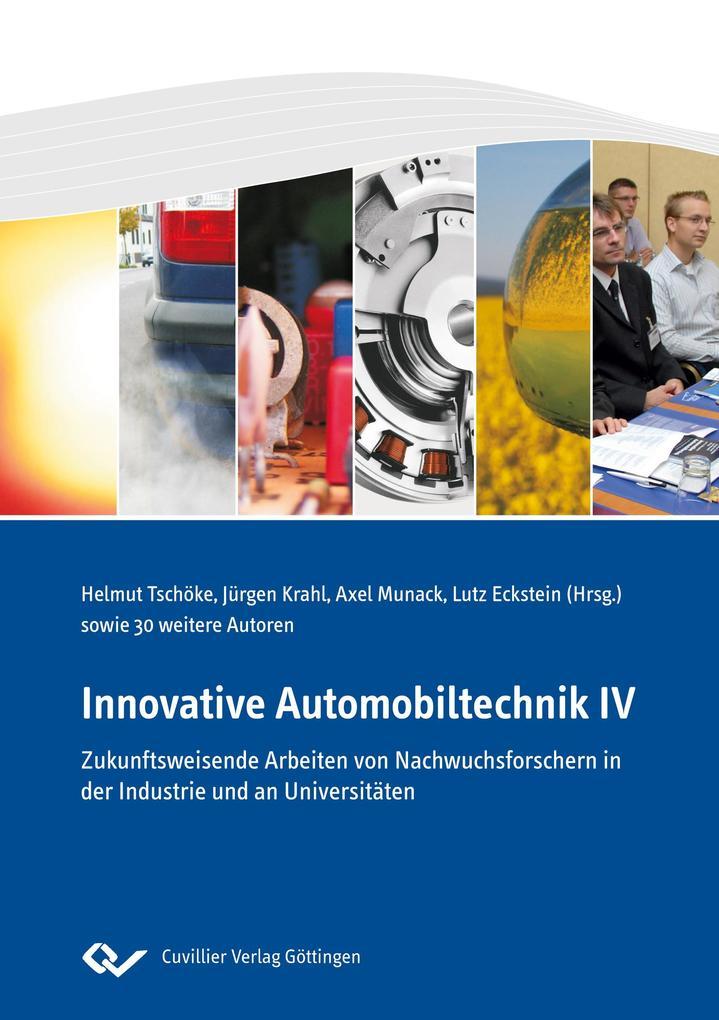 Innovative Automobiltechnik IV als Buch von