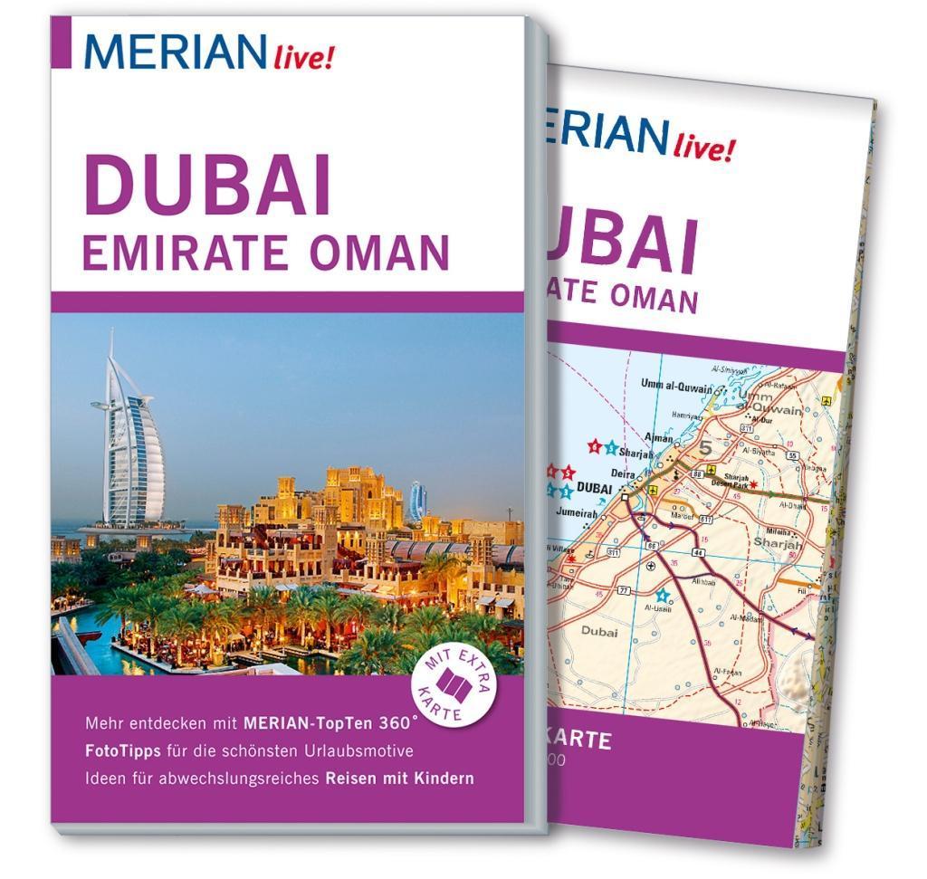 MERIAN live! Reiseführer Dubai, Emirate, Oman a...