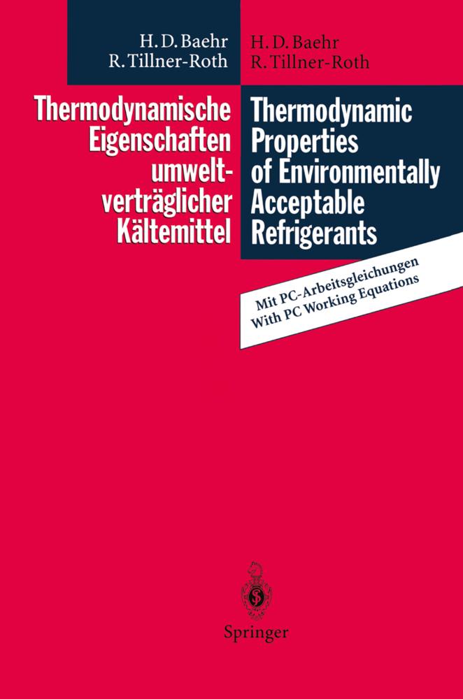Thermodynamische Eigenschaften umweltverträglic...