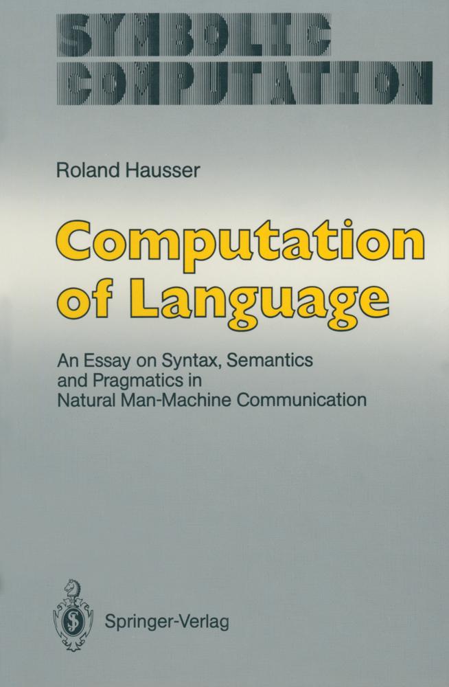 Computation of Language als Buch von Roland Hau...